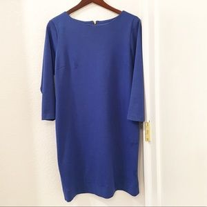 JulianTaylorNY blue shift dress Sz: 12